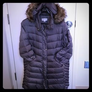 Michael Kors Puffer Coat Steel Grey